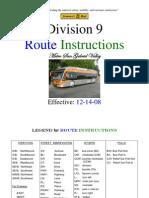 D09 Routes