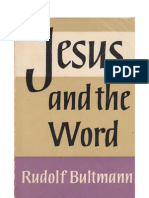Jesus and the Word by Rudolf Bultmann