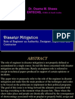 Disaster Mitigation-Role of Engineers 17-04-13
