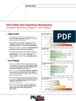 2013 Tablet User Experience Benchmarks