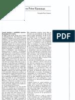 Lógica y figuratividad en Peter Eisenman