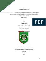 Faktor_faktor Yang Berhubungan Dengan Terjadinya Dermatitis Pada Pekerja Pencuci Mobil Di Bengkel Sehat Medan 2012