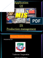 Mis Role in Production 12