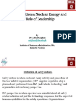 Nasir Afghan_Mission of Green Nuclear Energy and the Role of Leadership_Presentation