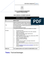 Imc401 Individual Assignment Guidelines