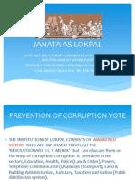 Janata as Lokpal