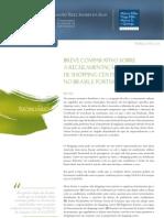 Regulamentacao Legal de Shopping Centers No Brasil e Portugal