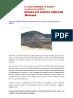 DIN CICLUL EVREII JOACA ROMANIA LA BARBUT: Vânătorii de resurse şi locotenenţii lor Afacerile dubioase ale marilor acţionari de la Roşia Montană
