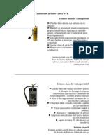 03  Extintores de Incêndio Classes D e K