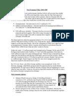 Nazi Economic Policy 1933
