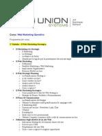 Corso Web Marketing Operativo