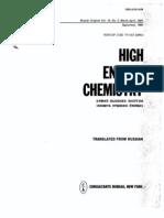 Activation-chemisorption Model of Plasma Polymerization 1981 Gk Vinogradov High Energy Chemistry
