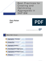 Best Practices for Creating and Optimizing Aggregates in SAP BW