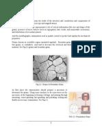 Preparation of Specimens Report