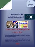PLANIF. ANUAL y SEC.  Inglés 5° Año -2013