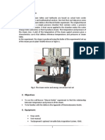 Pressure-Temperature Relationship in steam plant report