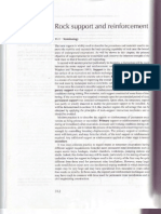 Chapter 11 Rock Support and reinforcement