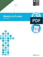 Modelo-de-Prueba_Matematica 6º bás_Simce 2013