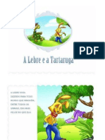 Livro a Lebre e a Tartaruga
