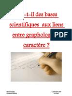 1 Maveyraud Mouquand Graphologie Caractere