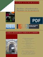 Dossier Pueblos abandonados, Pueblos en la memoria (castellano)