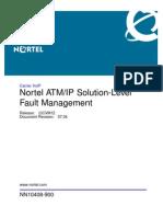 ATM IP Solution Level Fault Management CVM12 NN10408 900_07.04