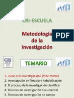 Metodología de la InvestigaciónSesión9mar
