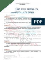Costituzione Della Repubblica Alkolika