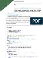 How to Transfer SQL Logins Between SQL Server 2005 Instances