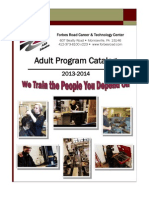2013-2014 Adult Program Catalog