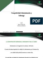 3. Competitividad y Administración