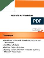 Module 9 - Workflow