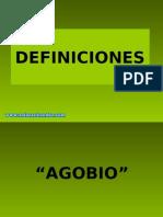 Definiciones de las buenas