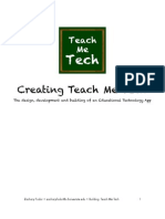 Teach Me Tech Reflection