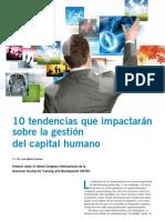 10Tendencias Del Desarrollo Organizacional y Capital Humano