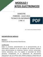 Doc Electronicos Para Los Alumnos 2013