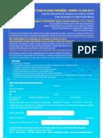 Bulletin d'inscription Fête duTour 15 juin-2