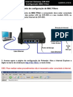 48191130 DIR 600 Procedimentos Para Configuracao de Filtro Por MAC