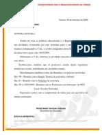 OFÍCIO CIRCULAR - INICIO DAS AULAS