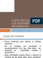 Costo de Calidad en los Sistemas de Información