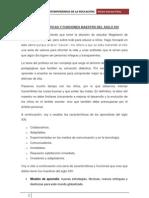 CARACTERÍSTICAS Y FUNCIONES MAESTRO DEL SIGLO XXI