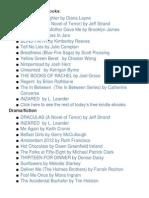 FREE Kindle  & e-Book Downloads (5/9)