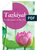 Tazkiyah Purification of the Soul