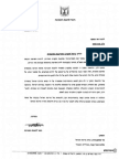 מכתב השר להגנת הסביבה אמיר פרץ אל שר האוצר יאיר לפיד בנוגע לביטול התחיבויות מדינת ישראל להפחתת פליטות גזי חממה