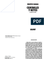 Harris Marvin - Canibales y Reyes Los Origenes de La Cultura