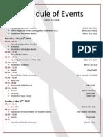 McMaster PSG Weekend Itinerary