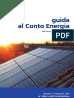 Guida Conto Energia  (3a edizione, marzo 2009)
