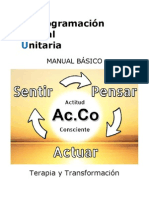 116372212 Reprogramacion Mental Unitaria Manual Basico PDF