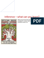Inference – what can you learn