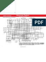 Honda CRF250L Wiring Diagram En